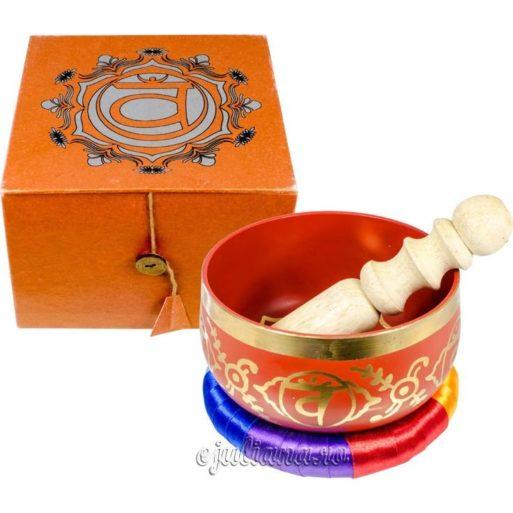 Bol cantator tibetan orange