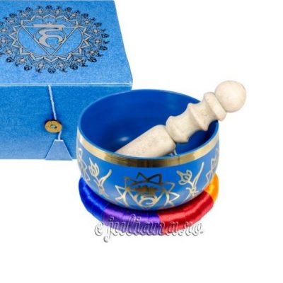 Bol cantator tibetan albastru