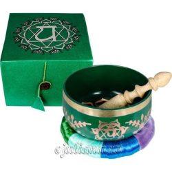 Bol cantator tibetan verde