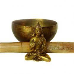 bol cantator tibetan buddha de bronz