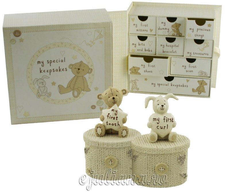 Caseta sertare amintiri set casetute pentru bucla si dintisor