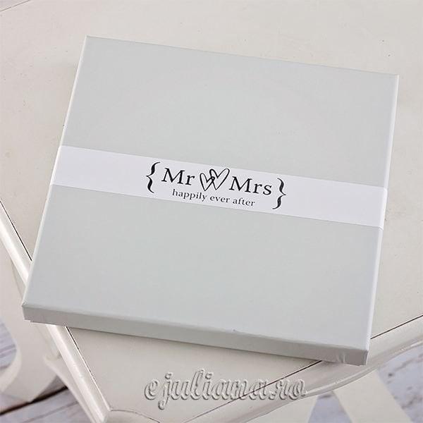 Cutie cadou Suport pentru DVD de nunta