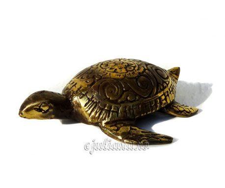 Testoasa de bronz antichizata feng shui