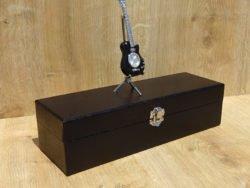 Ceas chitara cutie de ceasuri neagra