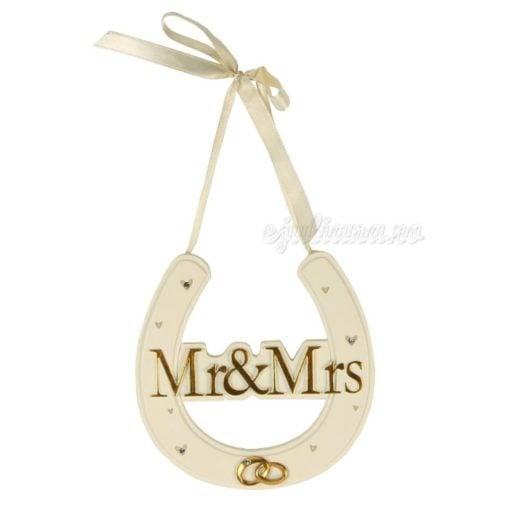 Potcoava pentru miri Mr&Mrs