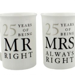 Cadou aniversare nunta de argint, Set cani 25 ani de casatorie