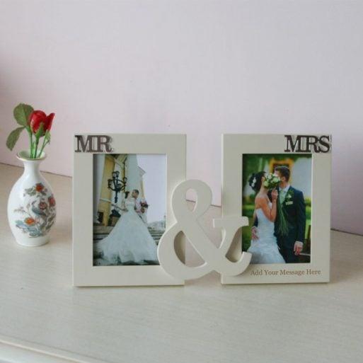 Rama foto dubla de nunta personalizabila