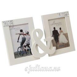 Rama foto dubla de nunta