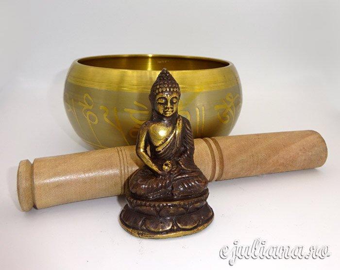 Bol tibetan statueta Buddha