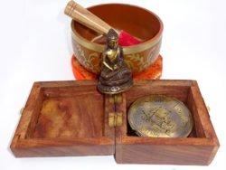 Buddha busola antichizata si bol tibetan