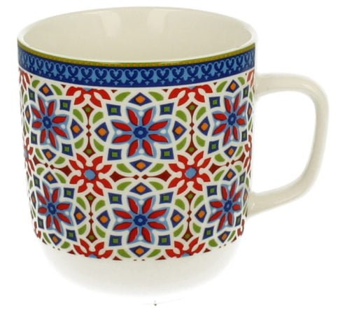 Cana de portelan model marocan