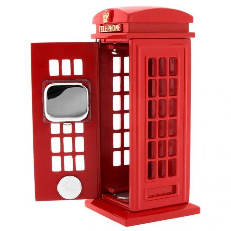 Ceas de birou cabina telefonica