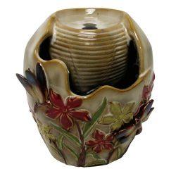 Fantana cu apa interior din ceramica pictata