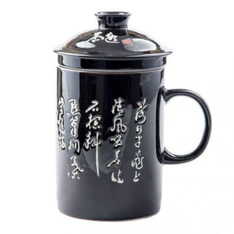 Cana de ceai cu infuzor pentru barbati
