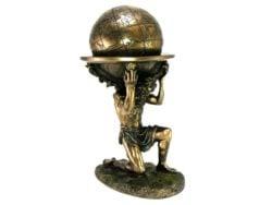 Atlas statueta de colectie pentru birou