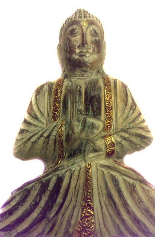Buddha de lemn vintage