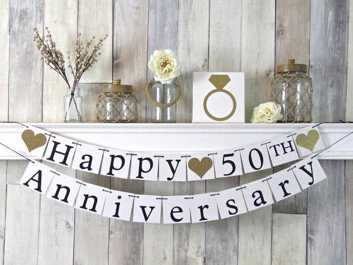 aniversare 50 de ani de la casatorie cadouri pentru nunta de aur