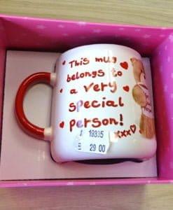 Cana cadou pentru cineva special