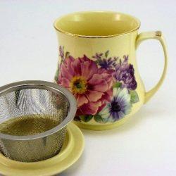 Cana de ceai cu infuzor metalic