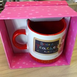 Cana cadou pentru profesor sau profesoara