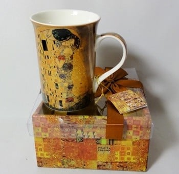 Cana de colectie pictura Gustav Klimt