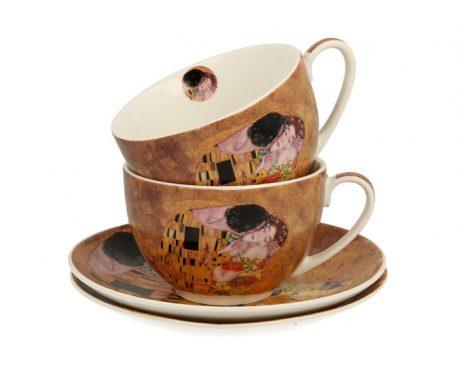 Cesti de cafea de portelan Gustave Klimt