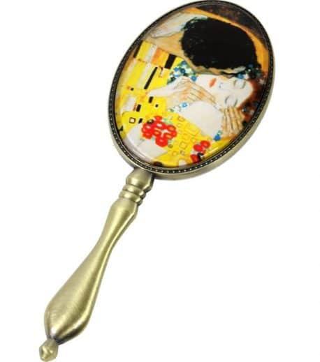 Oglinda cu maner Gustav Klimt
