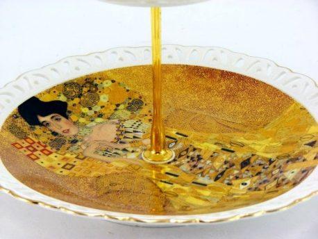 Platou dublu Gustav Klimt