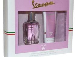 Set cadou Vespa parfum si gel de dus