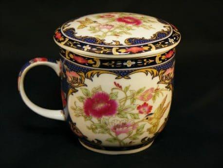 Set ceai cana cu infuzor