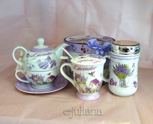 Ceainic tea for one cana cu infuzor cana de ceai lavanda