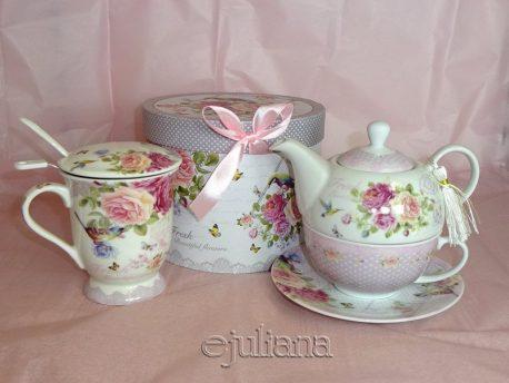 Ceainic tea for one cana cu infuzor