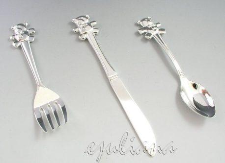 set tacamuri argintate
