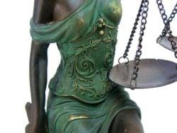 Zeita Justitiei statueta antichizata