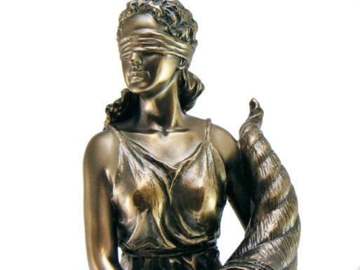 Zeita Fortuna statueta antichizata
