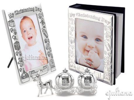 Cadou de botez fetita bucla dintisor