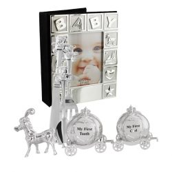 Album cutiute pentru mot si dintisor si tacamuri argintate