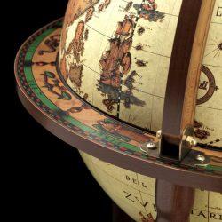 Bar glob pamantesc crem antichizat din colectia Safari