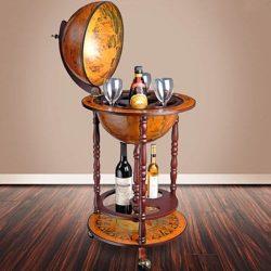 bar glob cabinet sticle pahare