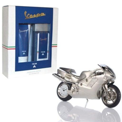 Set cadou ceas motocicleta Vespa