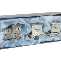 Trenulet argintat pentru suvita si dintisor