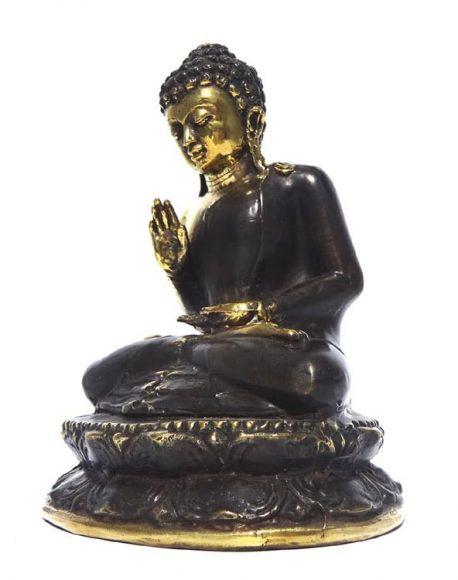 Buddha statueta antichizata alama patinata