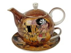 Ceainic Tea for one Klimt Kiss