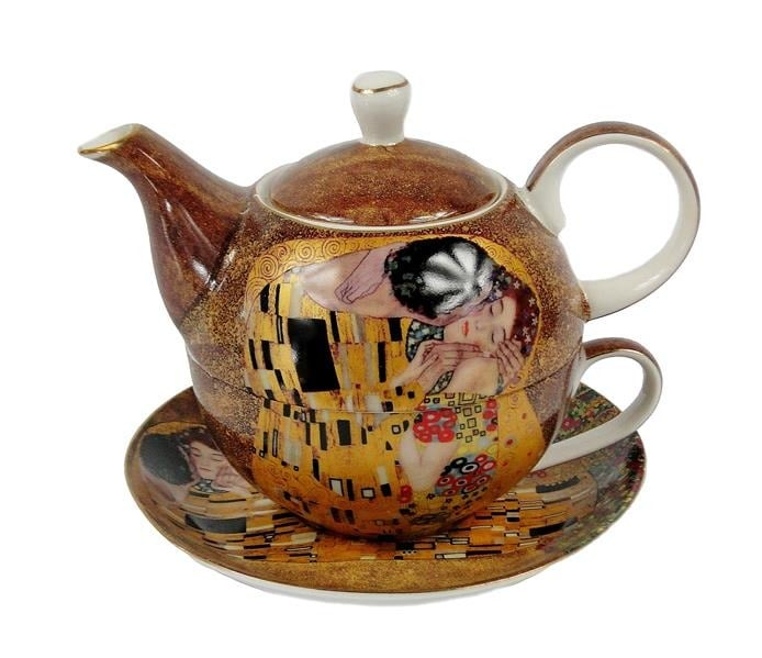 Ceainic Tea for one Klimt Kiss