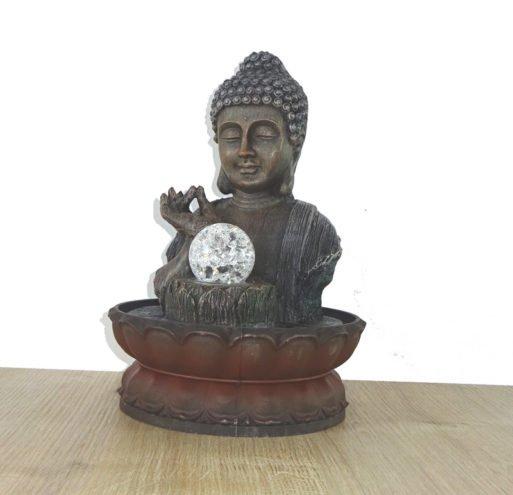 Fantana de interior cu Buddhaa