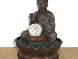 Fantana de interior cu Buddha