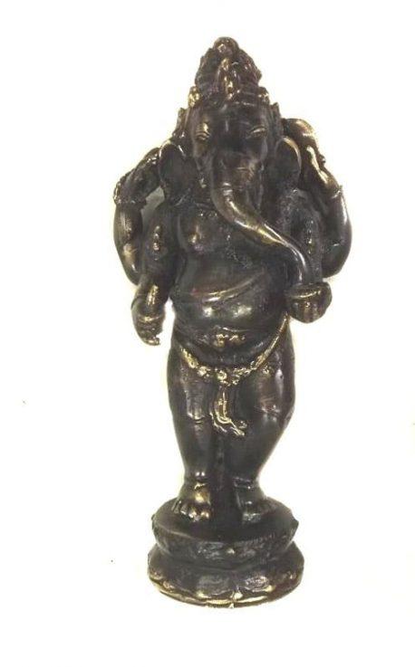 Ganesh, statueta antichizata
