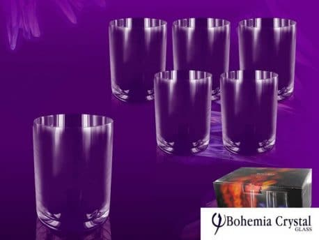 Set pahare de cristal Boemia