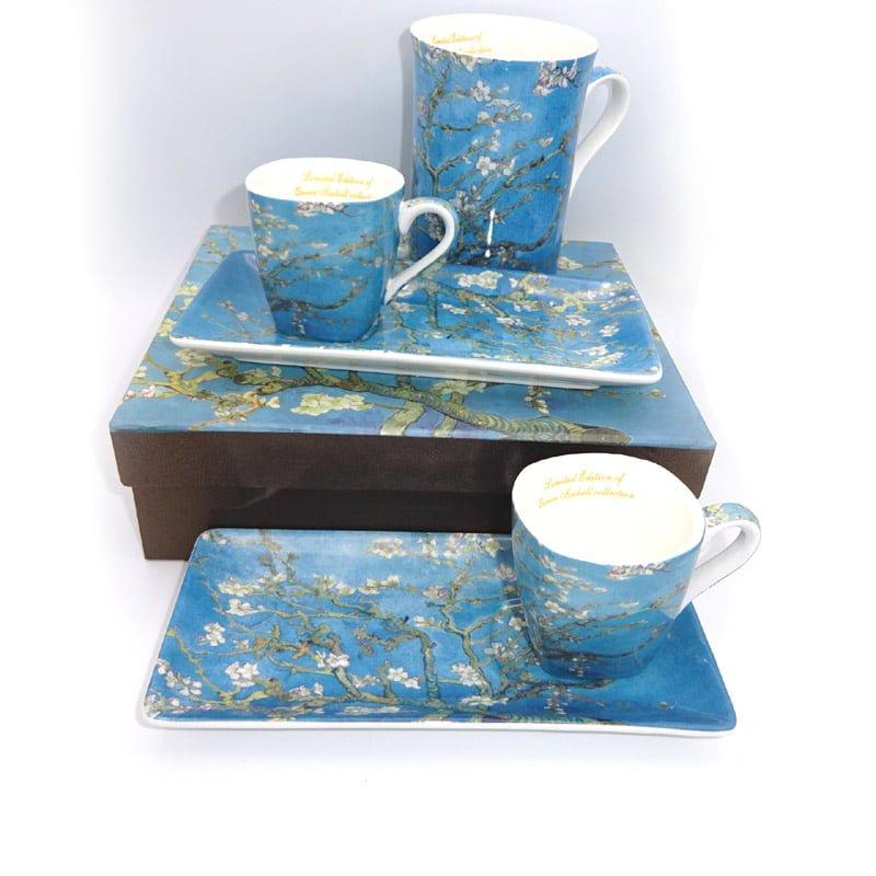 Set cesti espresso Gustave Klimt