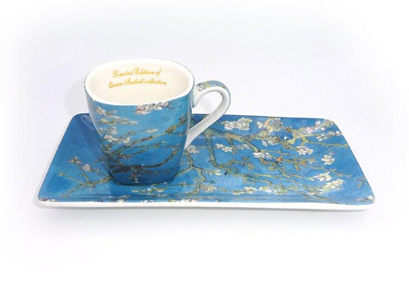 Ceasca si farfurioara de portelan Vincent Van Gogh